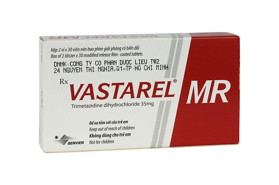 Liều dùng đối với thuốc trimetazidine