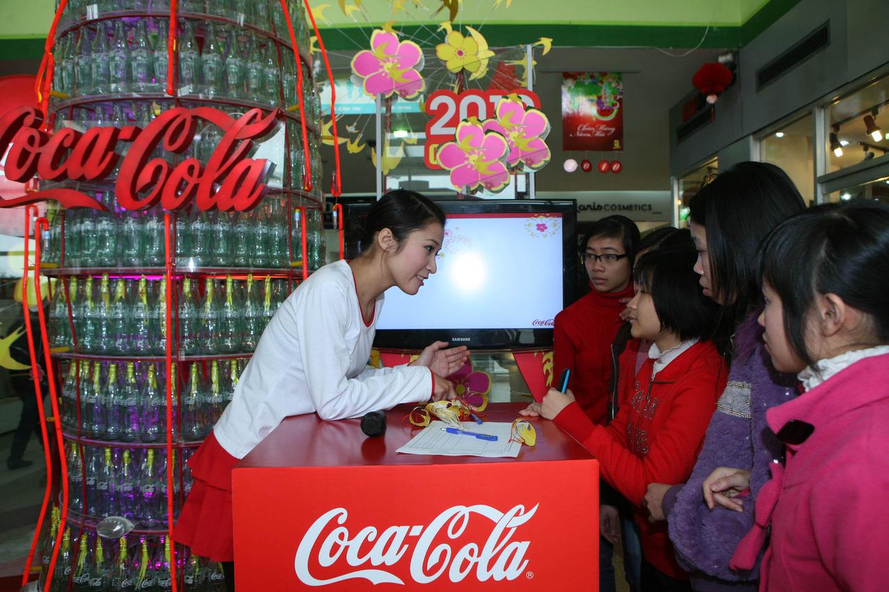 chiến lược marketing mix của coca cola