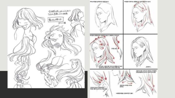 vẽ tranh anime nữ