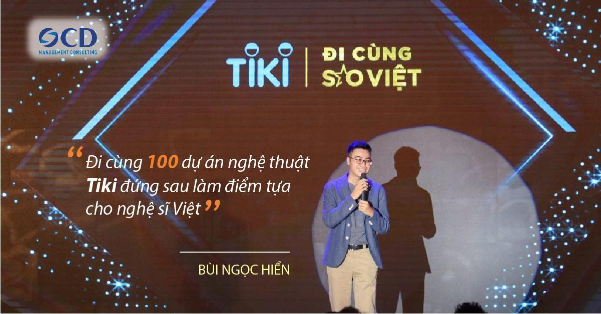 Tiki hợp tác với những ngôi sao nổi tiếng